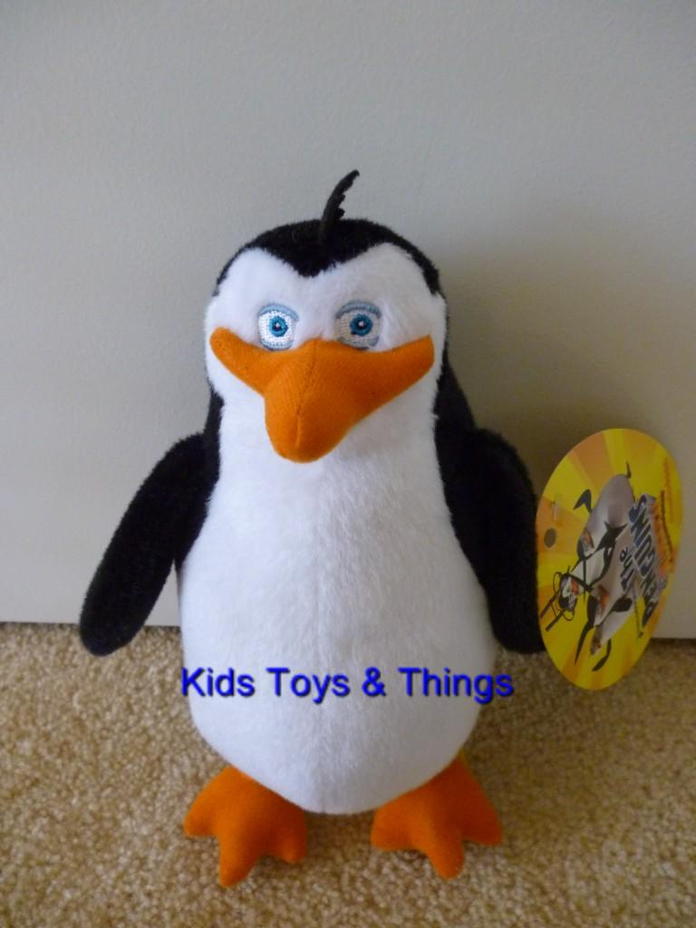 Penguins Of Madagascar Plush Toys 8