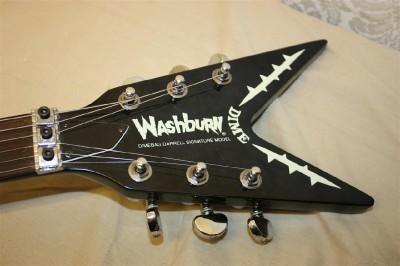 1997 washburn dime dimebag darrel signature model electric guitar. Black Bedroom Furniture Sets. Home Design Ideas