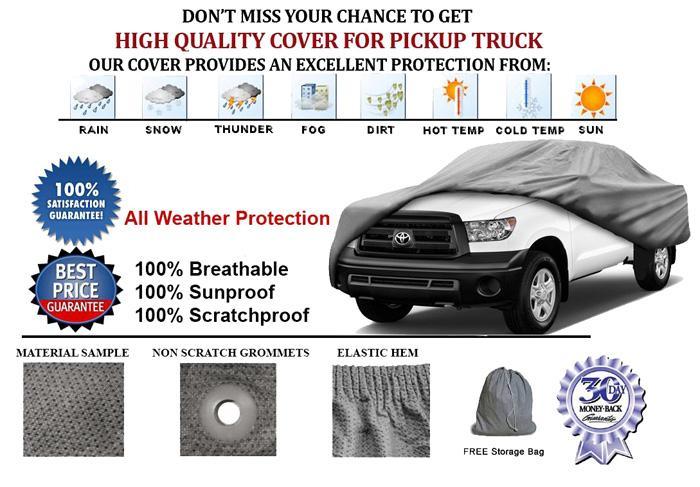 Truck Car Cover Dodge Ram 3500 Dually Quad Cab  2005-2012