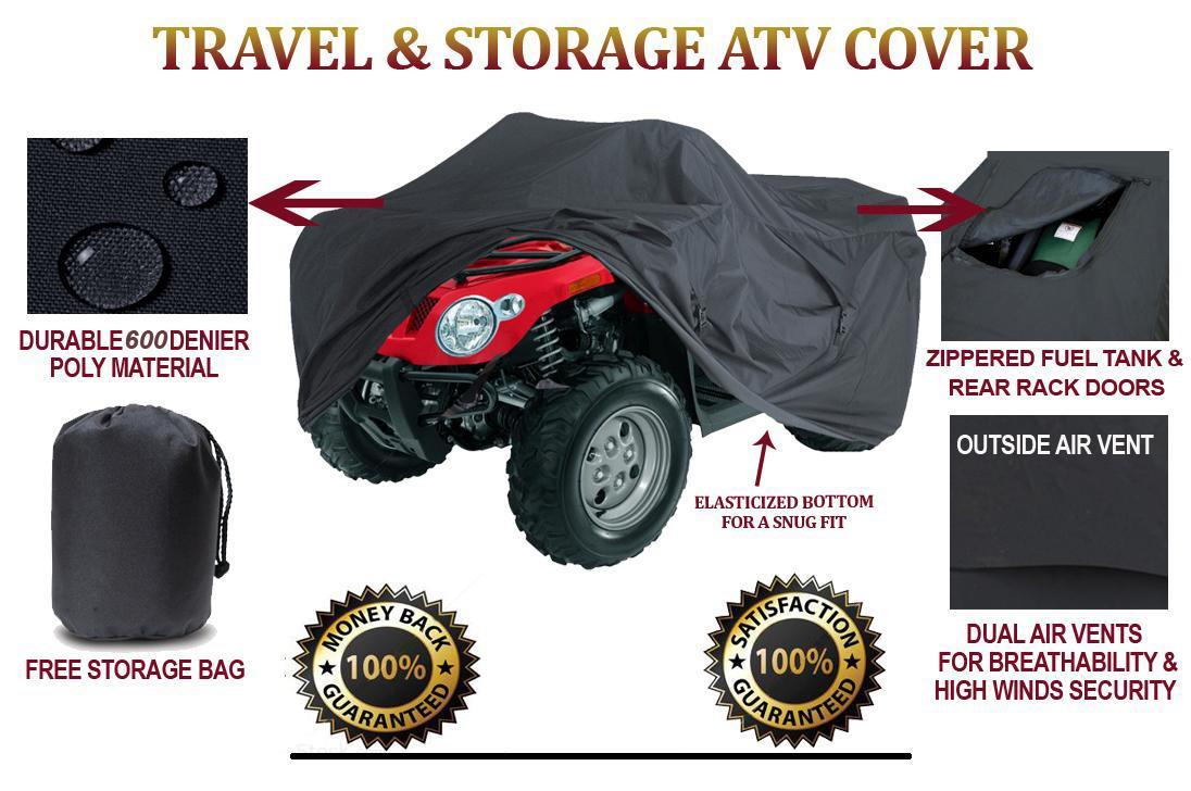 ATV Cover Suzuki KingQuad 500AXi 2009 2010 2011 Trailerable