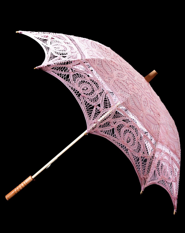 Wedding Parasol 8 colours Vintage Victorian Design Cotton ...