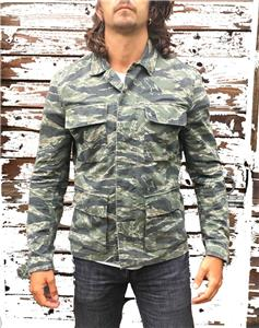 NEW WITH TAGS  Current Season ALL SAINTS ROSKO CAMO SHIRT JACKET S M ... e36eb786a