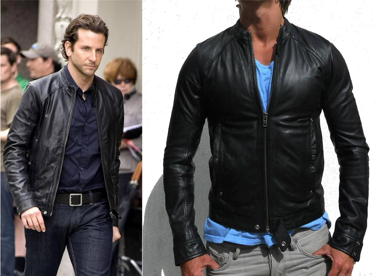53e33d06775a As worn by Bradley Cooper in Limitless, this is the long sold out Diesel  Lade leather jacket. In a large and extremely difficult to get hold of, ...