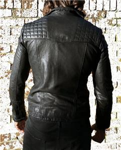2841068b72868 Description. Here we have the brand new with tags All Saints Catch leather  biker jacket in sizes XS to XXL.