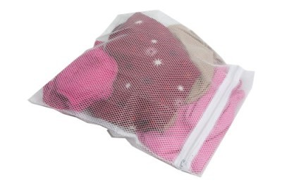 2 Laundry Wash Net Bags Mesh Tights Delicates Baby Clothes