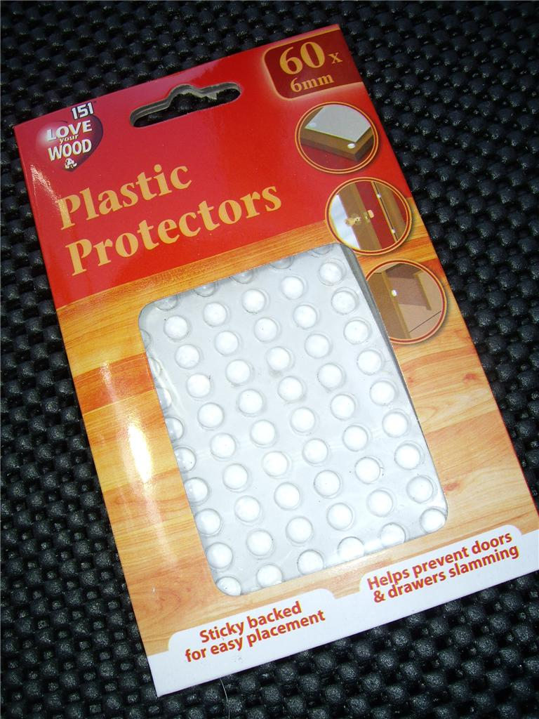 kitchen cabinet door pads plastic protectors dots pads self adhesive cabinet buffers 18568