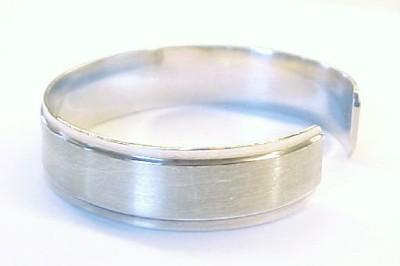 MEXICO Vintage Sterling Silver Cuff Bracelet ~ 6 1/2