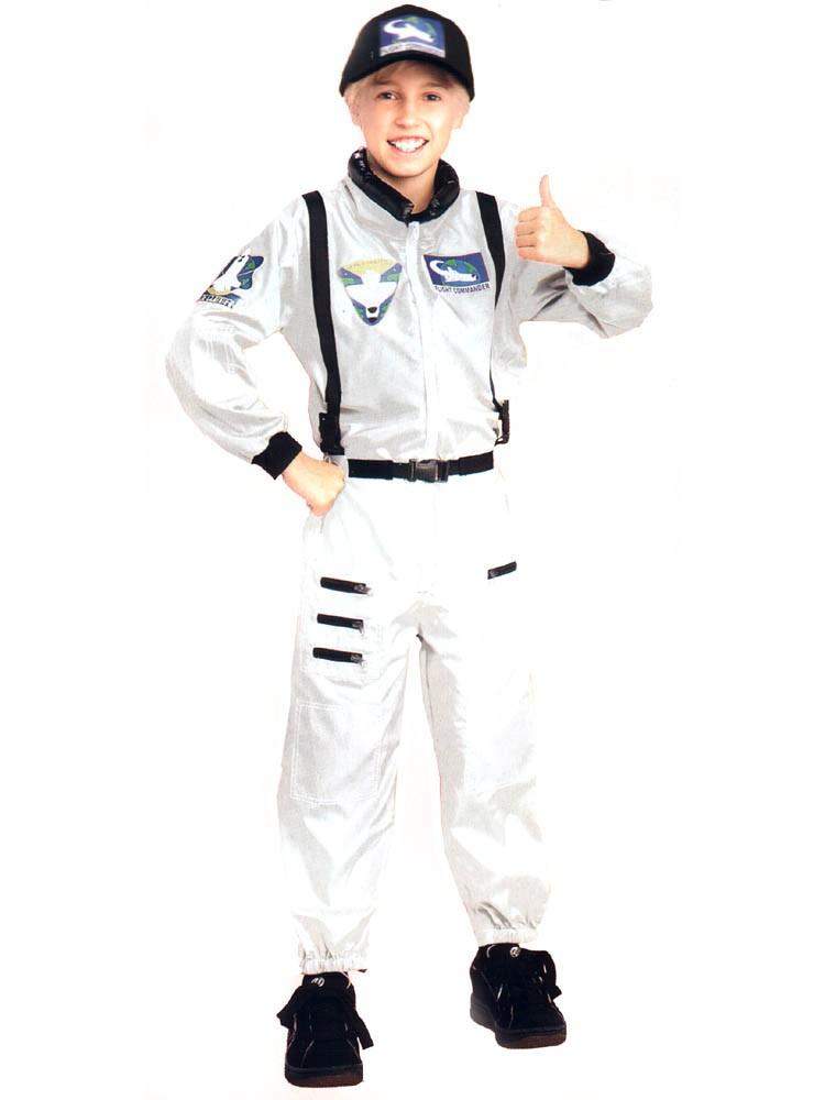 ASTRONAUT Costume White NASA Space Suit Hat Boy Child | eBay