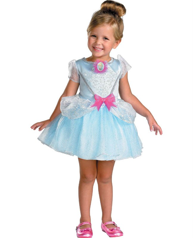 Disney Store Deluxe Cinderella Costume For Baby Toddler 2t: CINDERELLA Toddler Costume Disney Princess Dress New