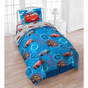 Disney Cars Twin 4pc Bedding Set Comforter Amp Sheet Set