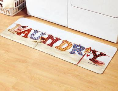 Laundry Room Rug 20x57 In Stock Clothesline Non Slip