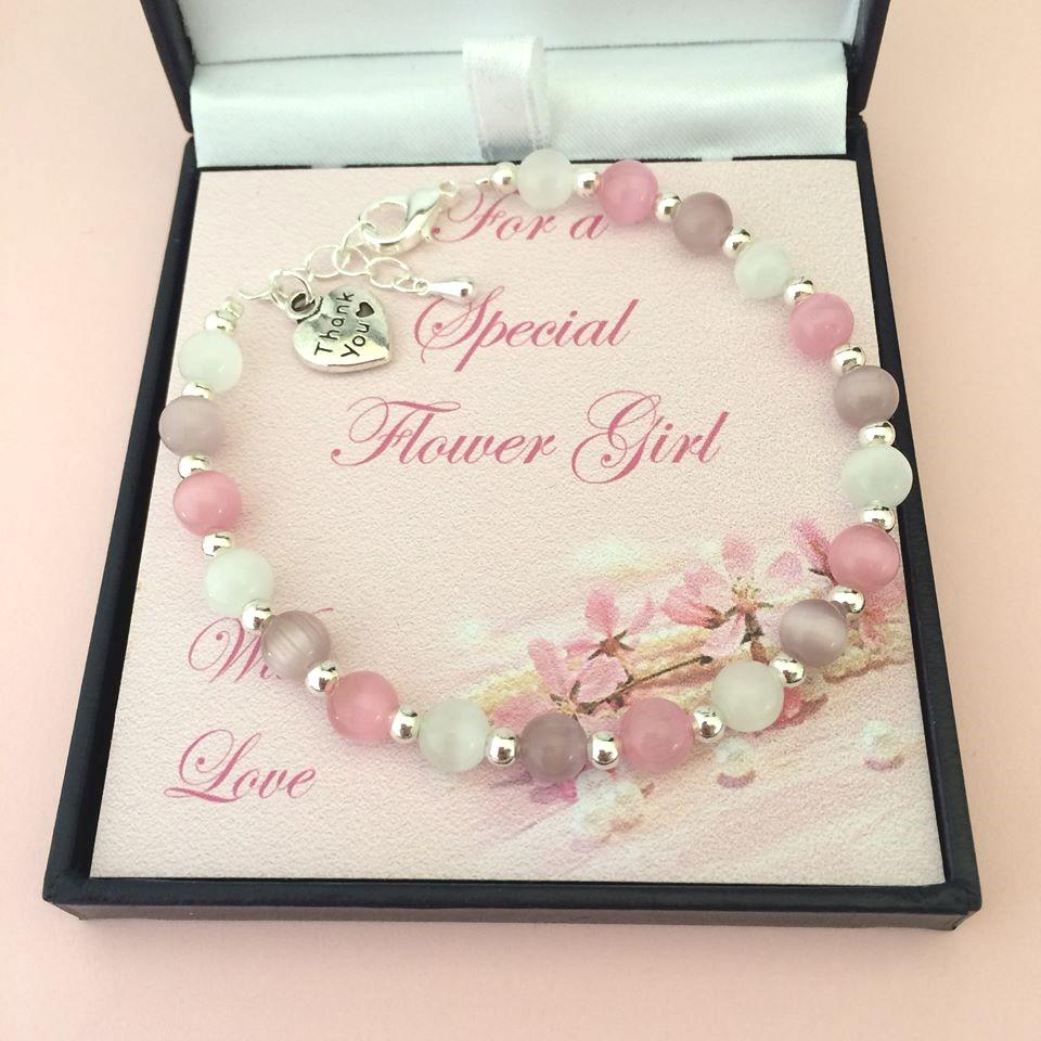Wedding Gifts For Girl: Bridesmaid Bracelets, Thank You Gift For Bridesmaid Or