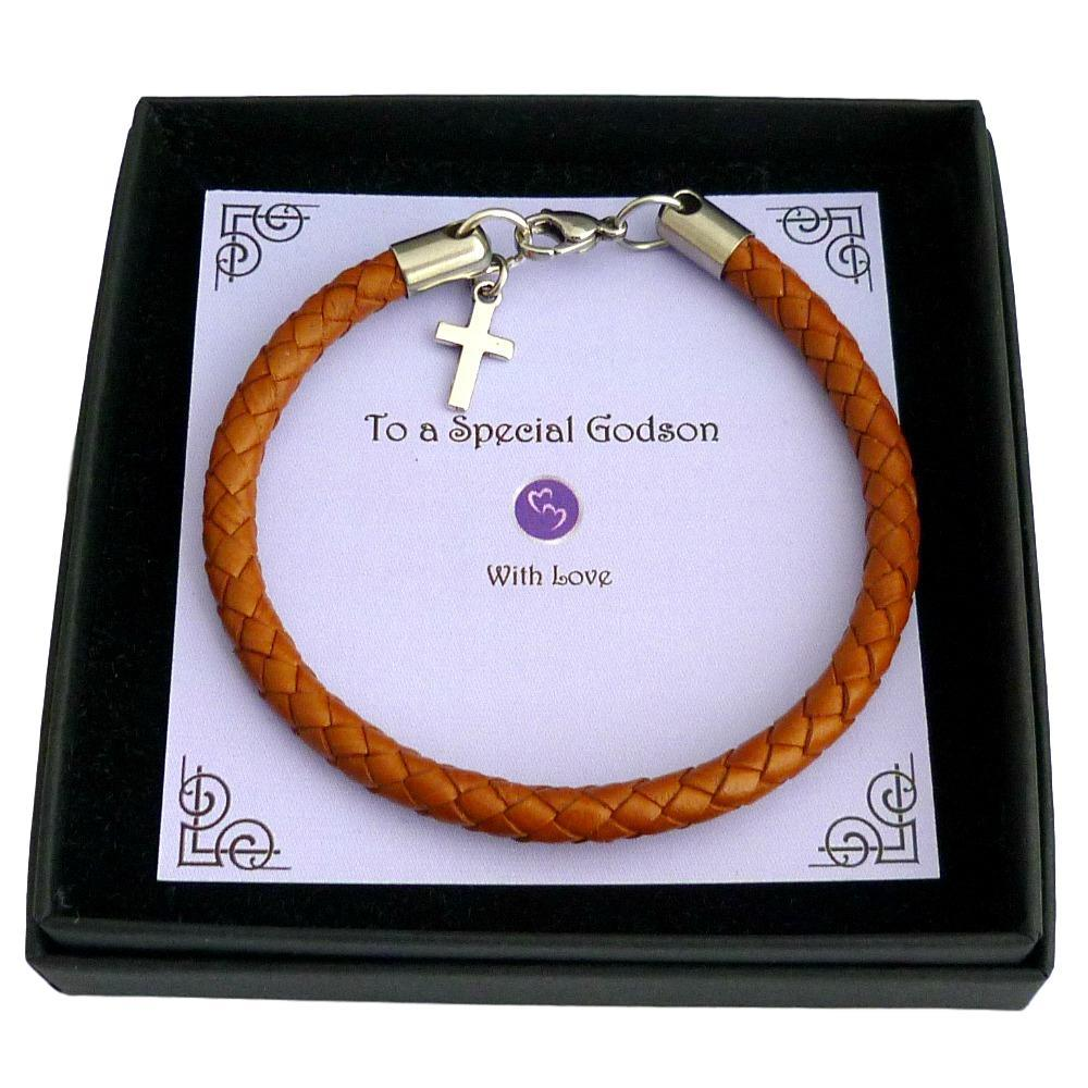 Boys-Bracelet-with-Cross-for-First-Communion-Baptism-or-Christening-in-Gift-Box