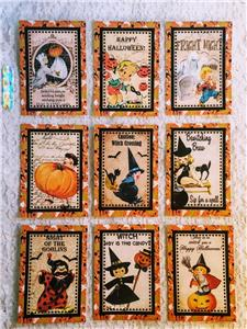 Halloween Kids~Pocket Pen Pal Letter Kit~sleeve protector~#17~judysjemscrafts