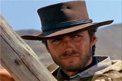 2fa13d88770ff CLINT EASTWOOD Western Wool Felt Hat - Fistful of Dollars - Great ...