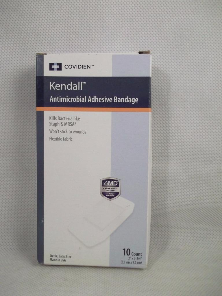 Covidien Kendall Antimicrobial Adhesive Bandages 2 Quot X 3 3