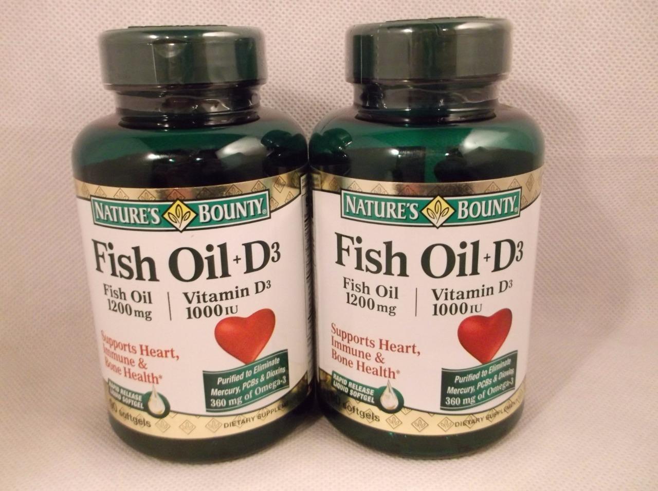 Vitamin d3 fish oil