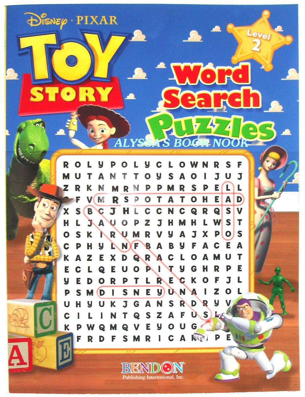 PLAYHOUSE DISNEY'S ~WORD SEARCH PUZZLES~ LEVEL 1 | eBay