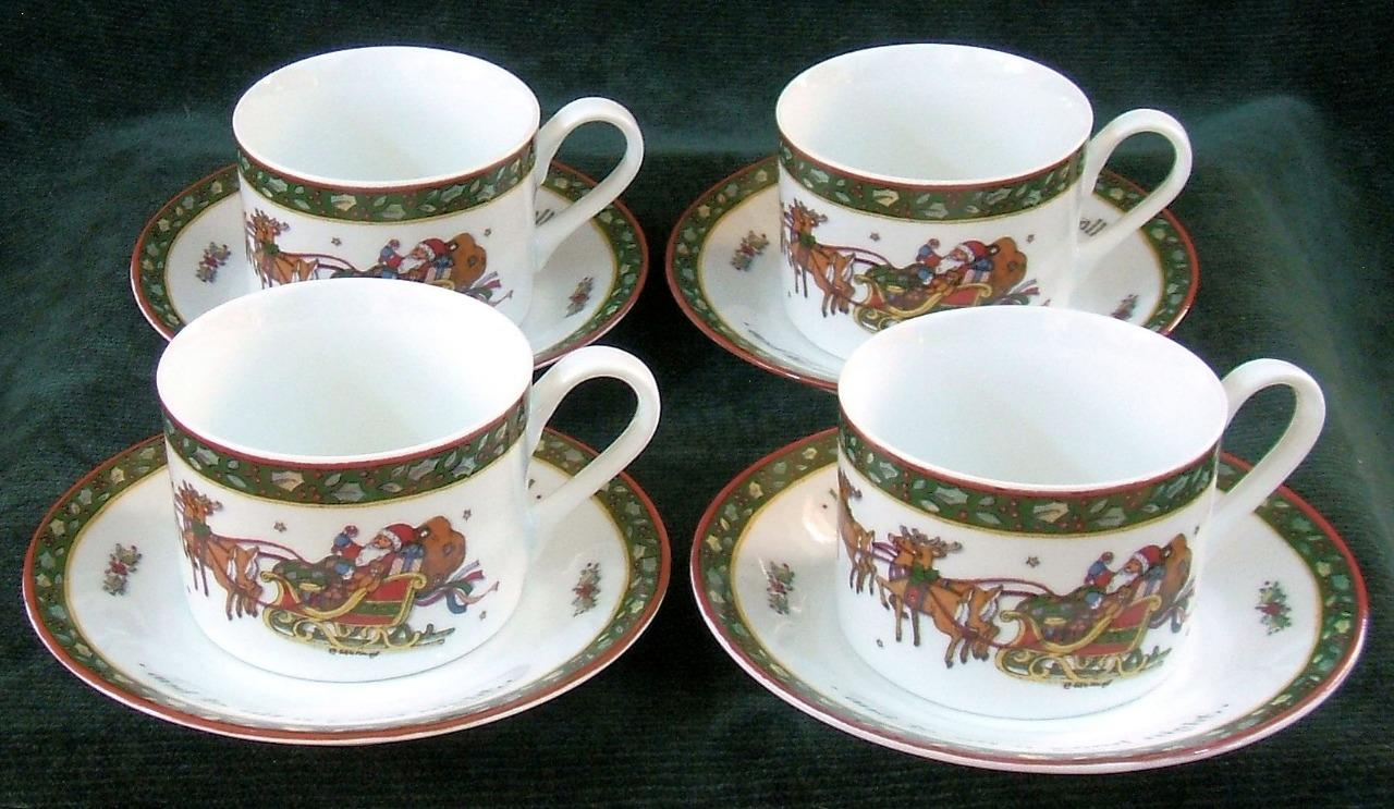Four - INTERNATIONAL CHINA - SUSAN WINGET - A CHRISTMAS STORY - CUPS ...