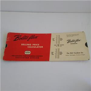general tire boltaflex adv selling price calculator fabric vintage