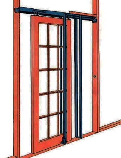 Pocket Door Frame Kit Pocket Door Set 8 Foot Tall Doors Ebay