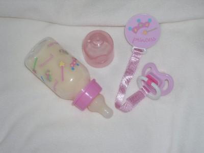 Baby Alive Custom Princess Pink Bottle Amp Pacifier Set Ebay