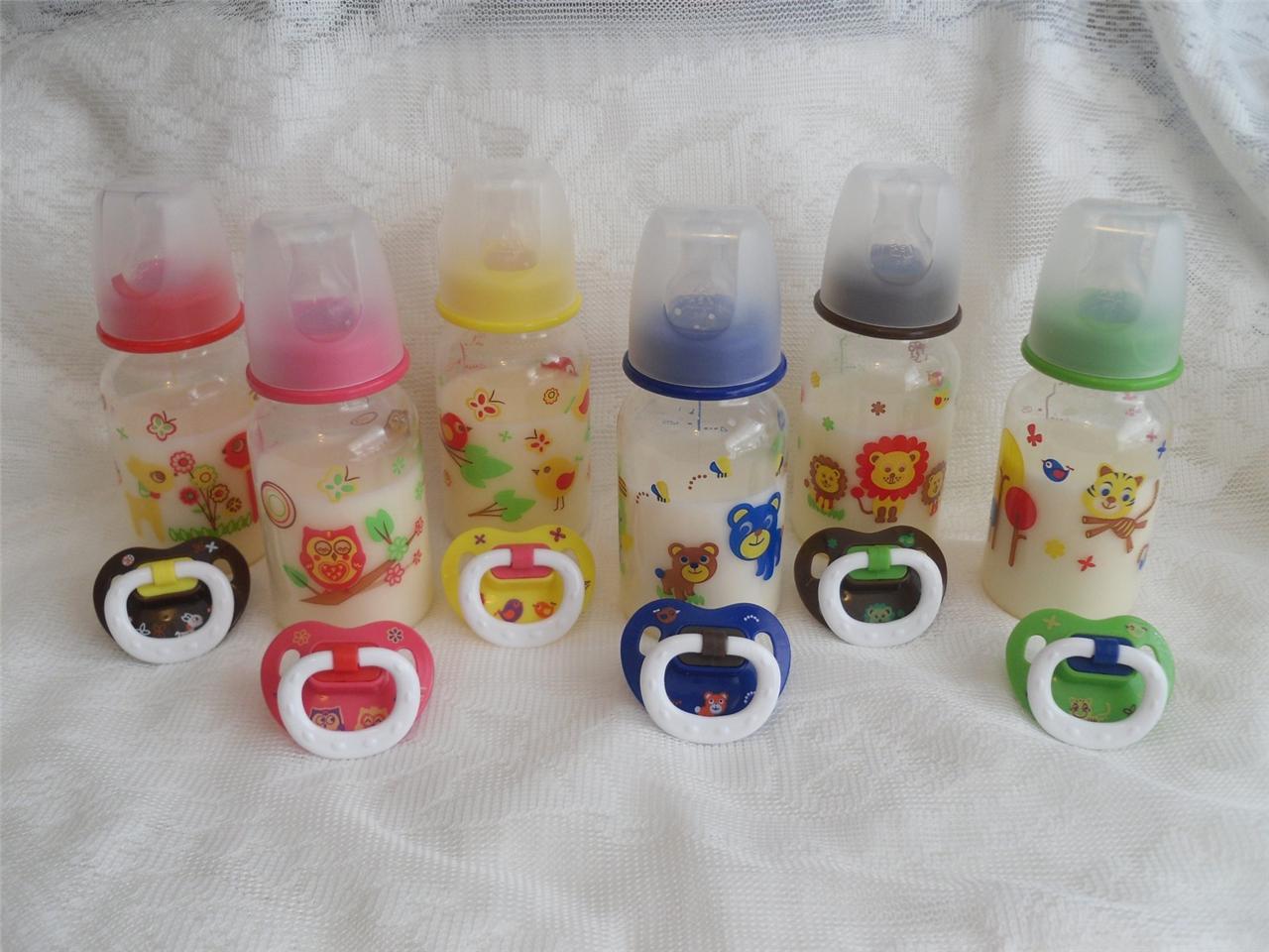 Faux Formula 5oz Bottle Amp Pacifier Set 4ur Reborn Baby