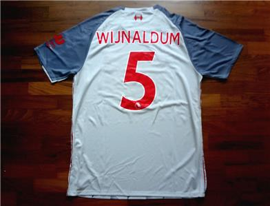 new style 51072 0d208 Details about 2018/19 Liverpool 3rd Jersey Georginio Wijnaldum Small Size