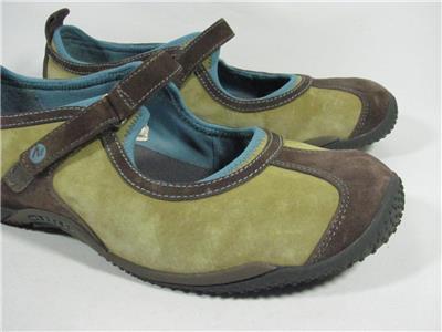 ✿ Jsport Jambu Sideline Encore Water Trail Mary-jane Flats 6 M Excellent!l@@k!22 Comfort Shoes