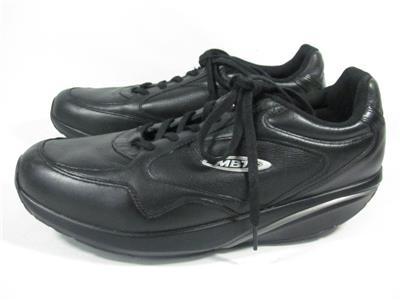 e605c8882fee MBT Sini Lux Leather Sneaker Men size 11.5 Black EUC