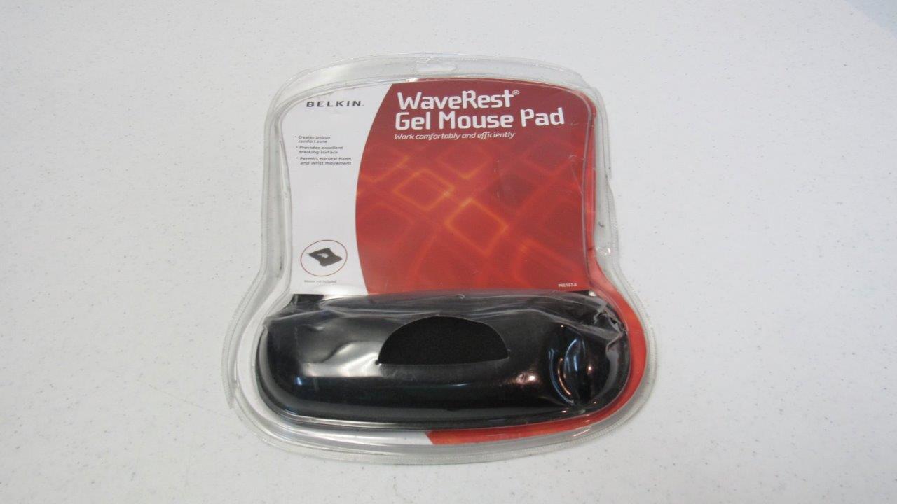 Belkin WaveRest Gel Mouse Pad Black F8E262-BLK