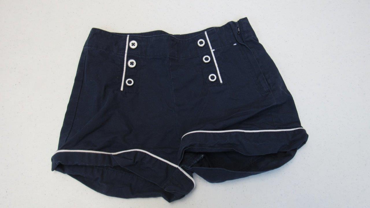 Gymboree-Parisian-Afternoon-Blue-Shorts-W-Zipper-Size-7-EUC-TL65
