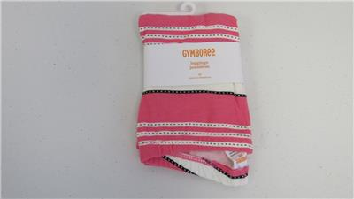 NWT Gymboree Girls Stripes and Anchors Pink Anchor Tights Size 6-12 M /& 2T-3T