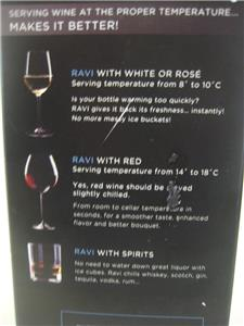 Ravi instant wine refresher instructions not included full