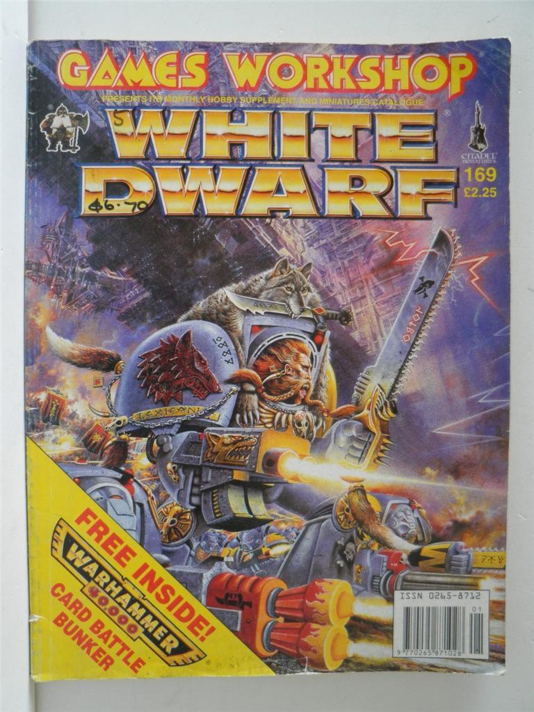 Issue #169 White Dwarf magazine by Games Workshop