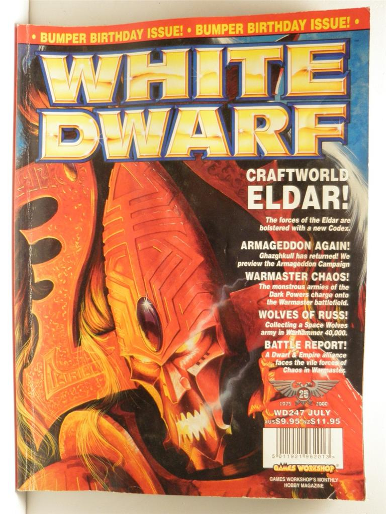 Houri White Dwarf Magazine (page 2) - Pics about space