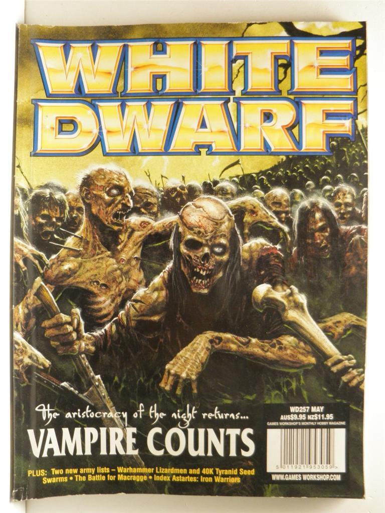 Issue #257 White Dwarf magazine by Games Workshop   eBay