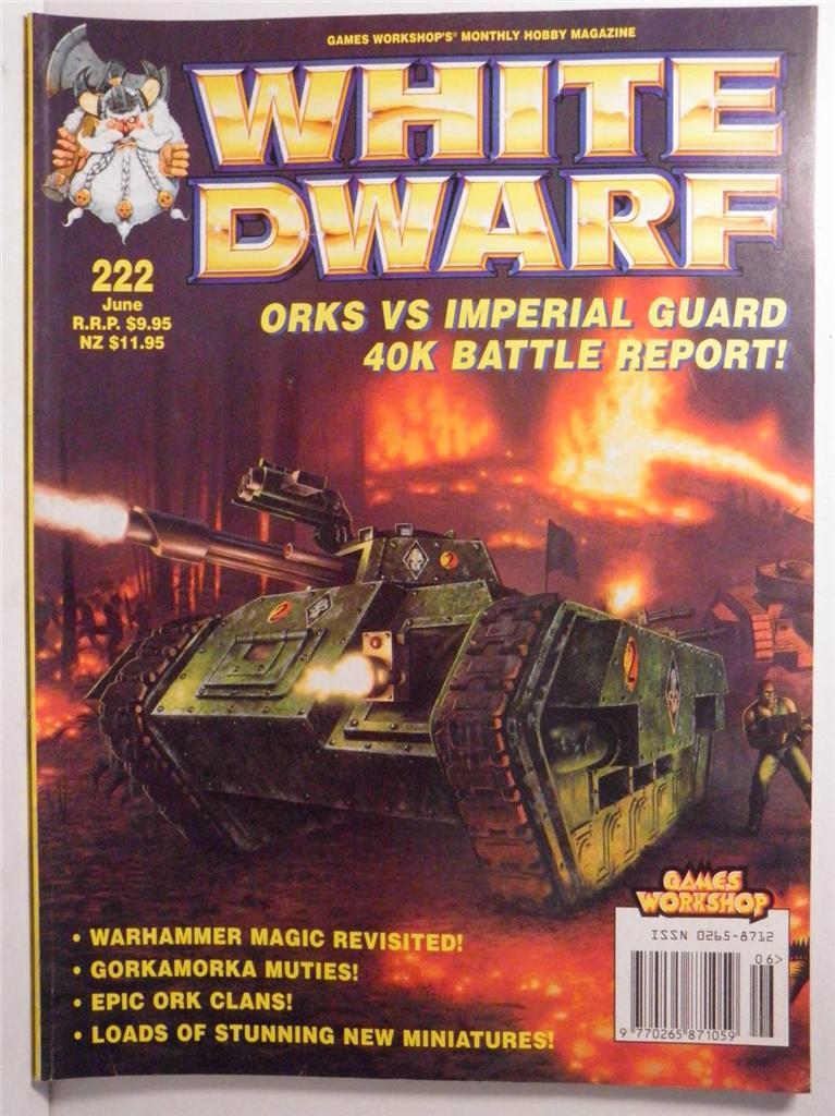 Issue #222 White Dwarf magazine by Games Workshop *   eBay