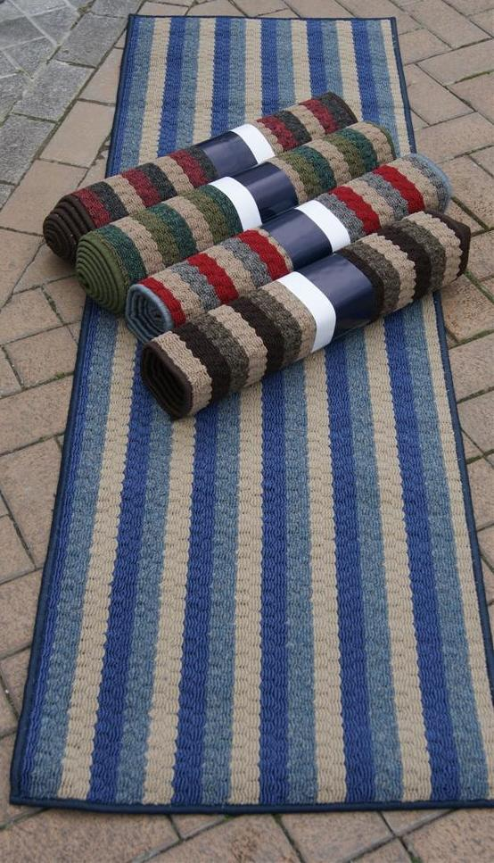 Non Slip Washable Runner Rugs Black Grey Brown Blue Green