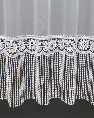 shelly macrame white voile curtain made to measure voile. Black Bedroom Furniture Sets. Home Design Ideas