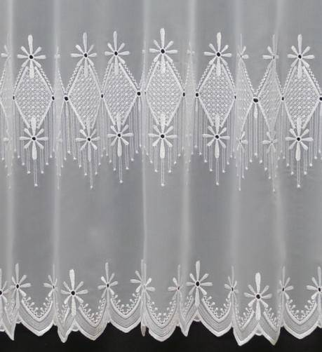 ruby white voile curtain made to measure voile any size. Black Bedroom Furniture Sets. Home Design Ideas