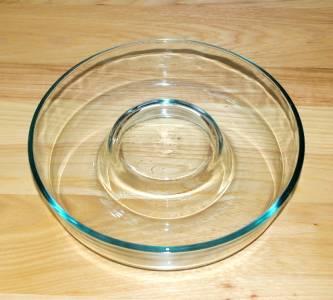 Vintage Pyrex 22cm 9 Quot Clear Glass Bundt Baking Pan Ring