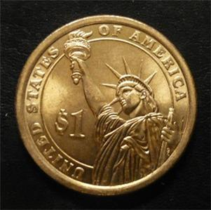 Andrew Jackson 2008d Gold Dollar Type 2 Clad Coin 7th