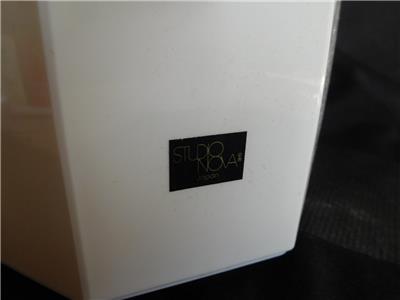Contemporary PLASTIC CARAFE GLASS THERMOS vintage Studio Nova Mid century Mod