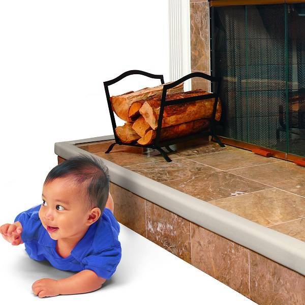 Baby Toddler Safety Cushioned Fireplace Hearth Table
