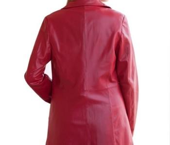 Ladies Women S Winter Genuine 3 4 Length Leather Jacket