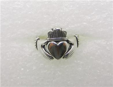 James Avery Claddagh Ring Sterling Silver