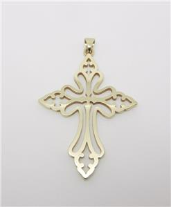 James avery retired 14k yellow gold st cecilia cross pendant 2 14 this beautiful cross is an authentic james avery piece stamped avery 14k the pendant is a st cecilias cross 2 14 in length including the bail aloadofball Gallery