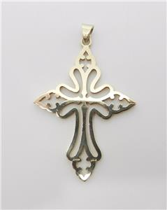 James avery retired 14k yellow gold st cecilia cross pendant 2 14 the pendant is a st cecilias cross 2 14 in length including the bail st cecilia is the patron of music aloadofball Gallery