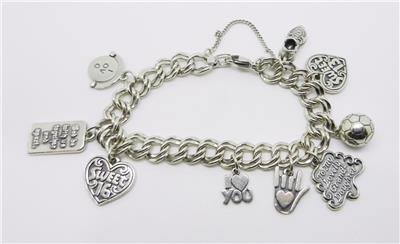 This Beautiful Charm Bracelet And Charms Are Authentic James Avery Pieces In Sterling Silver The All Stamped With